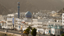 Barka independent power and water station is located 60 kilometres north of Oman's capital city Muscat